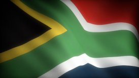 Flag of South Africa - motion graphic