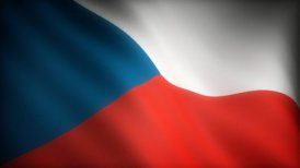 Flag of Czech Republic - motion graphic