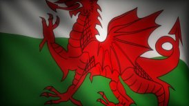 Flag of Wales - motion graphic