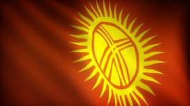 Flag of Kyrgyzstan - motion graphic