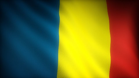Flag of Andorra - stock footage