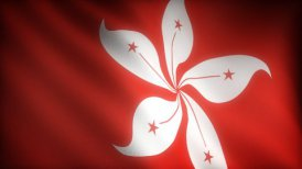 Flag of Hong-Kong - motion graphic
