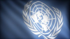 Flag of United Nations - motion graphic