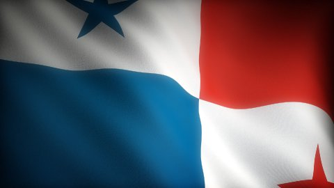 Flag of Panama - stock footage