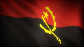 Flag of Angola - motion graphic