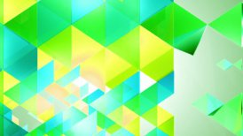 Fresh Triangles Background Loop - motion graphic