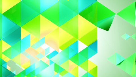 Fresh Triangles Background Loop - stock footage
