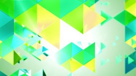 Fresh Triangles Tunnel Loop - motion graphic
