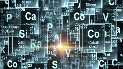 Periodic Table of Elements - stock footage
