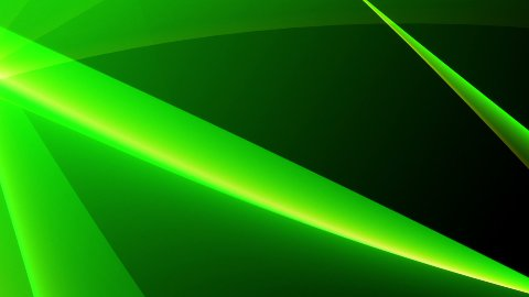 Fresh green abstract background LOOP - stock footage
