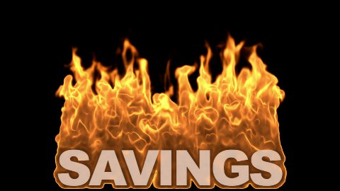 db fire text 12 hd1080 savings - stock footage