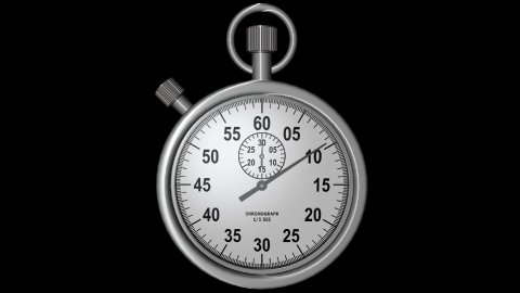 db stopwatch 01a hd1080 - stock footage