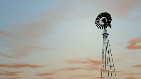 db windmill 03 sunset hd1080 - stock footage