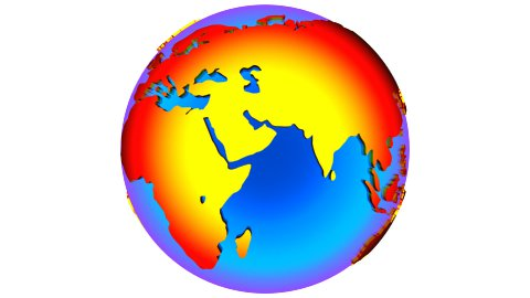 db earth 42 hd1080 neon globe - stock footage