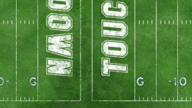 Football Field - motion graphic