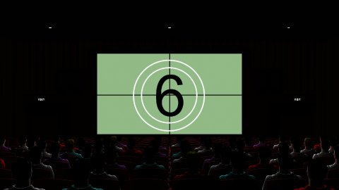 db theater countdown 04 hd1080 - stock footage