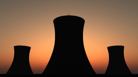 db nuclear sunset 01 hd1080 - stock footage