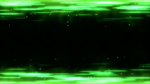 Bright Lines Animation - Loop Green - stock footage