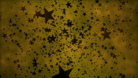Black Star Particle Background - Loop - stock footage