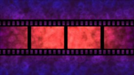 Movie Film Particle Background Animation - Loop Purple - motion graphic