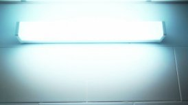 blinking broken fluorescent lamp sequence - editable clip, motion graphic, stock footage