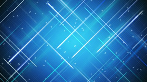 crossed blue stripes loopable background - stock footage