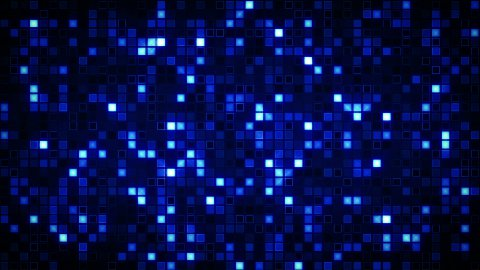 beaming blue squares loopable background - stock footage