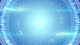 blue techno abstract loopable background - motion graphic