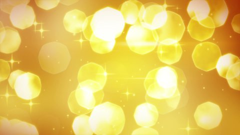 golden glitters festive loopable background - stock footage