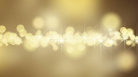 gold circle bokeh lights loop background - motion graphic