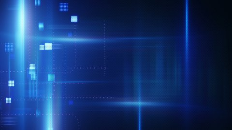 abstract technology loopable background - stock footage