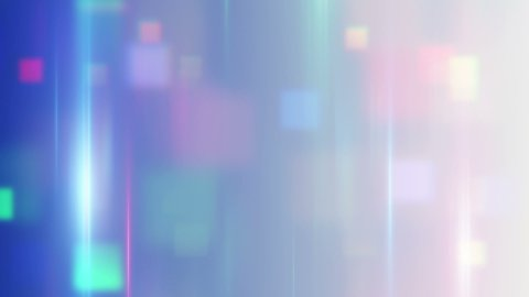 blurred squares abstract techno loop background - stock footage