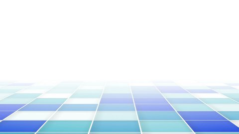 abstract blue squares loopable background - stock footage