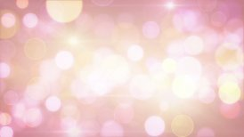 light-coloured pink yellow circle bokeh lights loop background - motion graphic