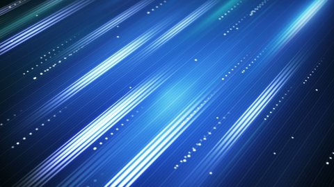 moving blue lines loopable background - stock footage