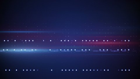 flashing stripes techno loop background - stock footage