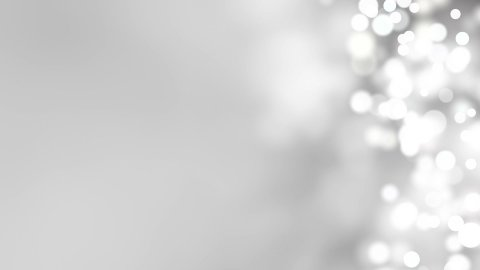 loopable abstract background white bokeh circles - stock footage