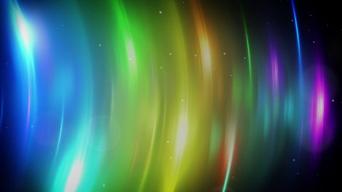 colorful light flares loopable background - stock footage