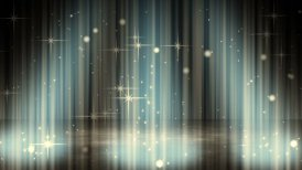 flashing glares in spotlights loopable background - motion graphic