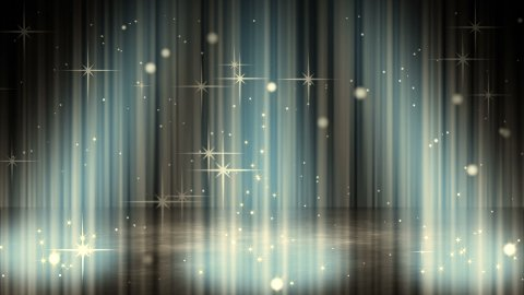 flashing glares in spotlights loopable background - stock footage
