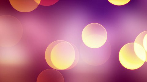 big bokeh lights loopable background - stock footage
