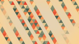 triangles abstract geometric loopable background - motion graphic