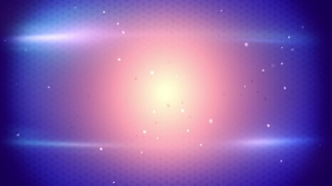 flaring light and particles loopable techno background - stock footage