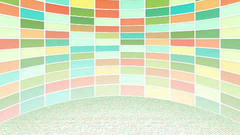 colorful rectangles loopable background - stock footage