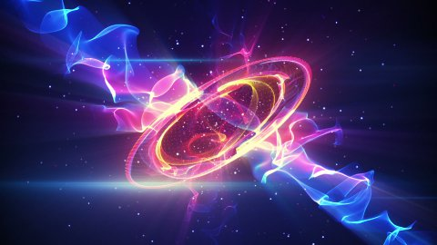 futuristic form loopable background - stock footage