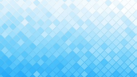 white blue rhomb mosaic tile loopable background - stock footage