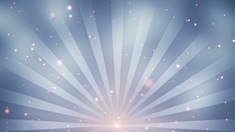 particles and rays loopable background - stock footage