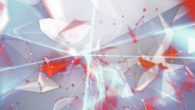 happy new year 2015 network mesh - motion graphic