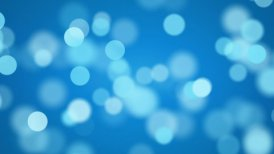 shiny blue defocused lights loopable background - motion graphic
