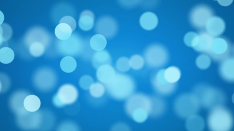 shiny blue defocused lights loopable background - stock footage